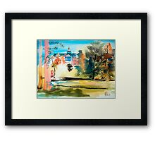 Baptist Home in Blue, Ironton, Missouri Framed Print
