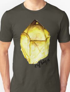 Watercolor Citrine With Calligraphy – November Birthstone T-Shirt