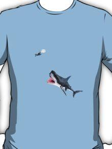Oh Shit Shark T-Shirt T-Shirt
