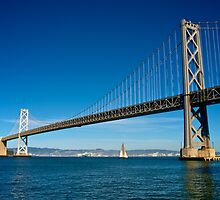 Sailing under the Bay Bridge - San Francisco by Renee Hubbard Fine Art Photography