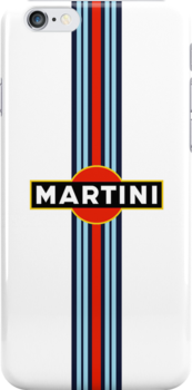 Martini Racing iPhone Case by CaptainAussum