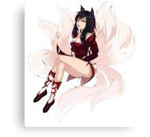 Ahri Seriosly - League of Legends Canvas Print