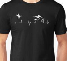 Duck Hunting Heartbeat - Duck Heartbeat Unisex T-Shirt