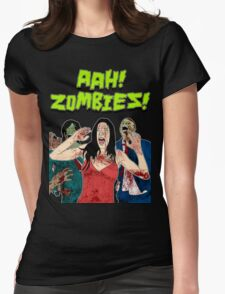 AHH!! Zombies!! Womens Fitted T-Shirt
