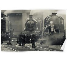 On Shed Poster