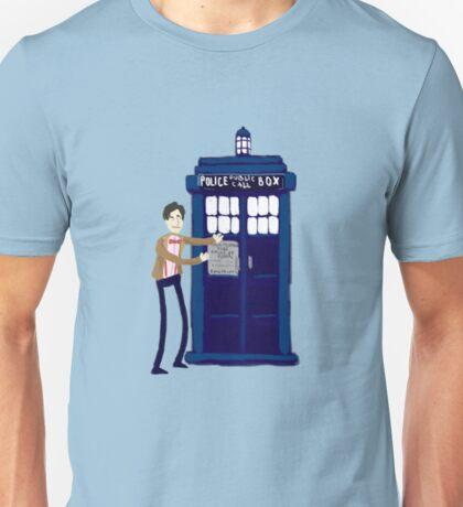 Welcome to my Tardis Unisex T-Shirt