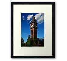 Kentucky Clock Tower Framed Print