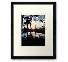 COREY'S LIGHTHOUSE Framed Print