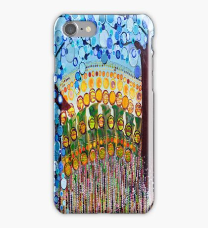 :: Indiana Blue Willow :: iPhone Case/Skin
