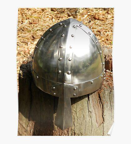 Varangian Guard Helmet Poster