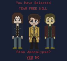 Team Free Will character select by kinkajou