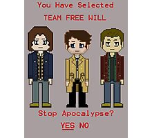 Team Free Will character select Photographic Print