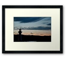 Wollongong Lighthouse Framed Print