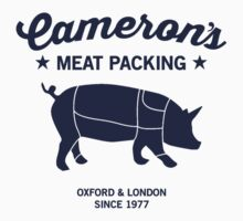 Cameron's Meat Packing #PIGGATE Kids Tee