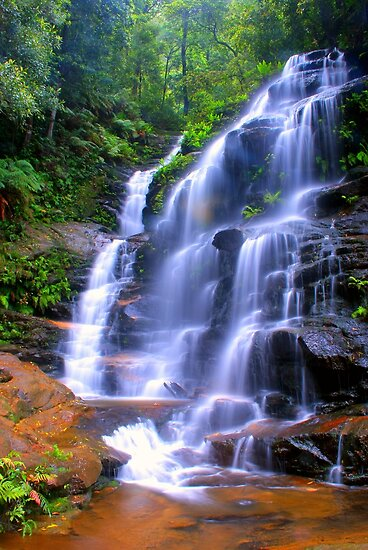Sylvia Falls ... glowing like a star by Michael Matthews