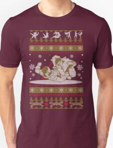 Jiu Jitsu Ugly Christmas T-Shirt