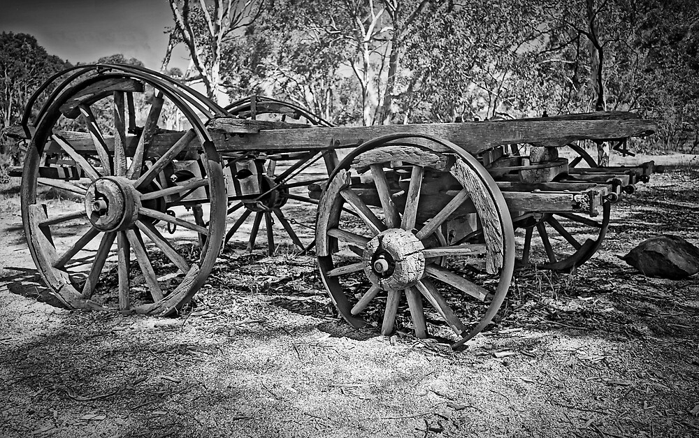 Remains of the Dray by TonyCrehan