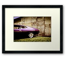 The ghost that walks.... Framed Print