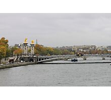 Seine River Photographic Print