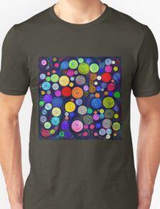 #DeepDream Color Circles Visual Areas 5x5K v1448448724 T-Shirt