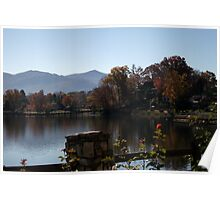 Lake Junaluska by the Rose Walk Poster