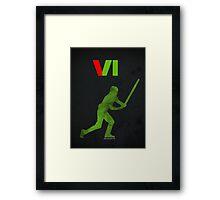 VI Framed Print