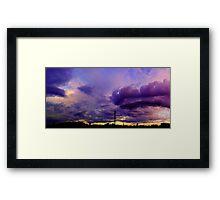 ©HCS Purple Clouds I Framed Print