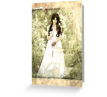Snow White (modern influence) Greeting Card