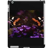 Butterfly on verbena flower. iPad Case/Skin