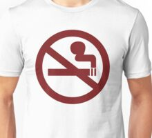 No-Smoking Unisex T-Shirt