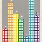 Rainbow City Surrender by jnewt