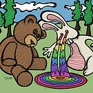 Teddy Bear And Bunny - Seeing Is Believing by Brett Gilbert