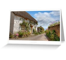 Huccombe, Devon Greeting Card