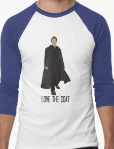 Love the Coat Men's Baseball ¾ T-Shirt