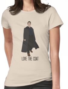 Love the Coat Womens Fitted T-Shirt
