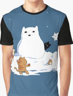Snowcat Graphic T-Shirt