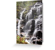 Sylvia Falls, Blue Mountains Greeting Card