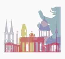 Berlin skyline pop Kids Clothes