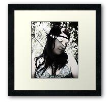 A sense of calm Framed Print