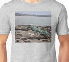 Crocodile @ Sculptures By The Sea, Sydney 2012 Unisex T-Shirt