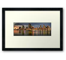 Brisbane, Queensland Australia Framed Print
