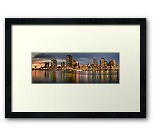 Brisbane, Queensland Australia Framed Print