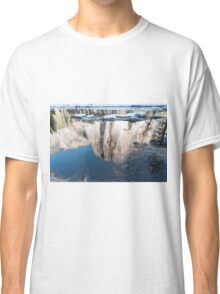 Reflection of El Capitan mountain, Yosemite national Park, California USA Classic T-Shirt