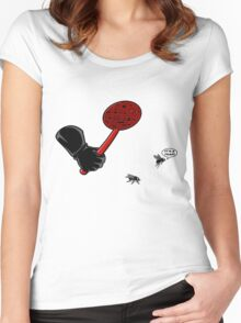 Fly trap Women's Fitted Scoop T-Shirt