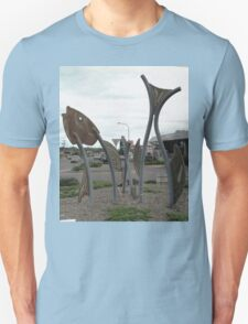 Fish Sculptures, Ulladulla, New South Wales, Australia 2011 T-Shirt