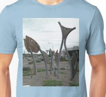 Fish Sculptures, Ulladulla, New South Wales, Australia 2011 Unisex T-Shirt