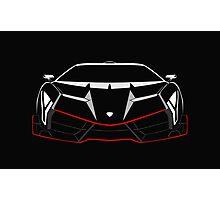 Veneno sports car Photographic Print