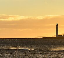 Barns Ness Seascape by Allan Kelly
