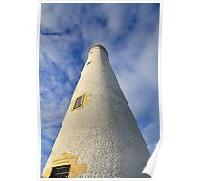 Barns Ness Lighthouse Tower Poster