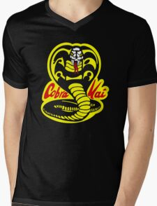 Cobra Kai - The Karate Kid Mens V-Neck T-Shirt